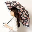 雨傘(長傘)【スリム/袋付き】花柄(婦人/レディース)/ミラ・ショーン...
