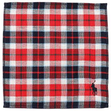 【25×25cm】タオルハンカチーフ(メンズ)/ポロ ラルフローレン(ハンカチ)POLO RALPH LAUREN(Handkerchief)