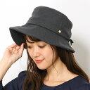 5becbb5fbfbd 位, 【UV遮蔽率99%以上・サイズ調整OK・日本製】手洗いできる後ろリボン前後差つばハット/フルラ(ネックウェア・帽子)(FURLA)