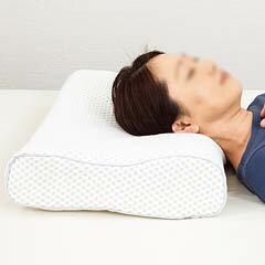 女性の頸椎高に適した安眠枕