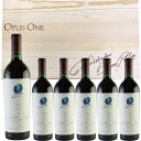 オーパス・ワン 2015 750ml×6本 赤ワイン カリフォルニア ナパ・ヴァレー まとめ買い オーパス・ワンオリジナルの木箱に入れてお届けします。 キャッシュレス 決済 5%還元