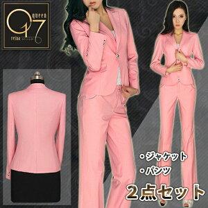【送料無料】個性派ピンクのスーツ (hq-suit-09)