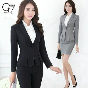シンプル美ライン♪スタイルアップセットスーツ (suit-84)
