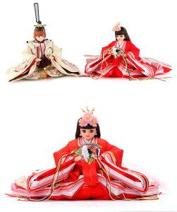雛人形収納飾り親王飾りシリアル入【リカちゃん】【久月×タカラトミー:オリジナル】【2017年度新作】