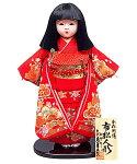 市松人形 松寿作 金彩刺繍