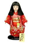 市松人形 正絹友禅刺繍