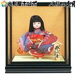 浮世人形 ケース飾り 津田蓬生作 宝印10 華童 鈴の音