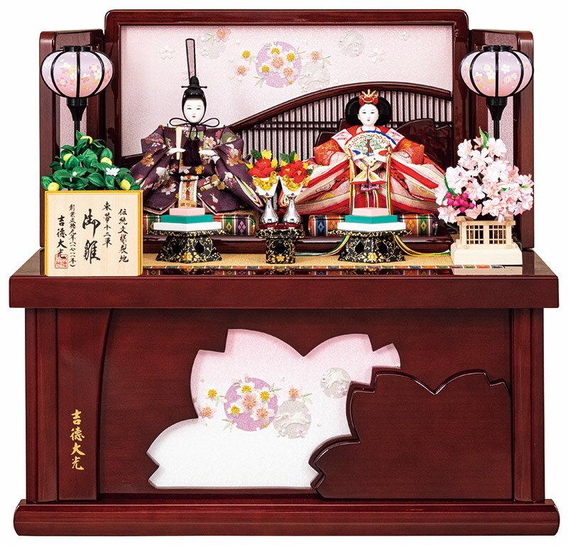 コンパクト収納飾り 親王飾り 御雛 三五親王