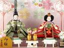 雛人形 コンパクト 吉徳大光 ひな人形 雛 ケース飾り 親王飾り 御雛 芥子親王 アクリルケース オルゴール付 【2019年度新作】 h313-yscp-322096