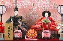 雛人形 吉徳 ひな人形 小さい コンパクト 雛 ケース飾り 親王飾り オルゴール付 【2018年度新作】【選べる2種類】 yscp-322205-296