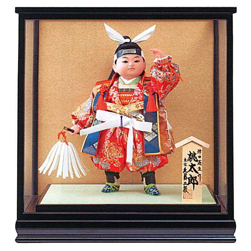 ケース飾り 浮世人形 津田蓬生作 8号 津印8