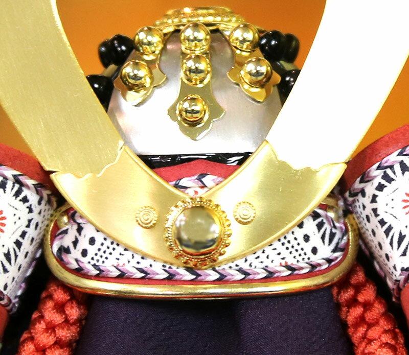 加藤峻厳作 貼り合わせ本小札 本金鍍金 本鹿韋 星鋲カシメ鉢