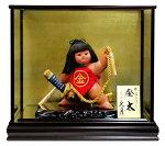 ケース飾り 浮世人形 裸金太 太刀乗り 8号