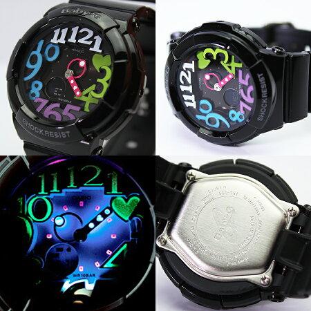 【安心2年保証・到着後レビューを書いて送料無料】BABY-G(ベビージー)CASIO(カシオ)腕時計ネオンイルミネーター搭載!「BGA-131-7B3/BGA131-7B3」が登場!ネオンダイアルホワイト(白)・ポップなマルチカラー【あす楽】