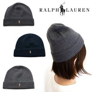 POLORALPHLAURENポロラルフローレンウールニット帽ワッチビーニー帽子6F0552