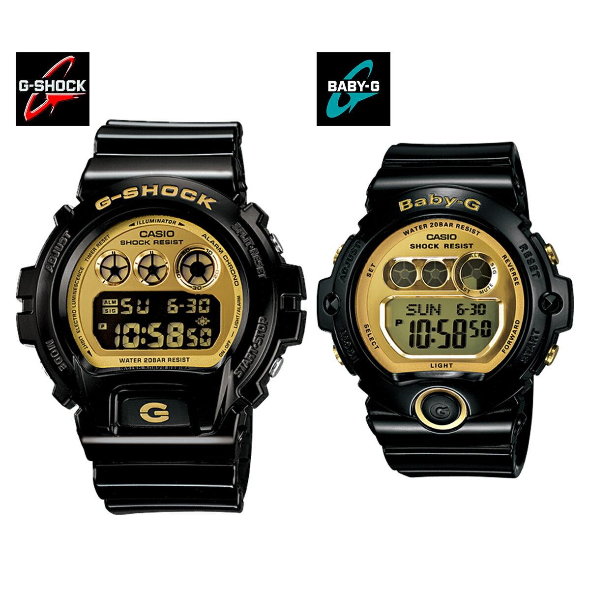腕時計, ペアウォッチ G-SHOCKBaby-GCASIO DW-6900CB-1 BG-6901-1