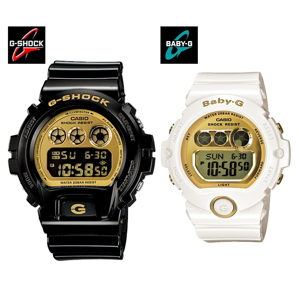腕時計, ペアウォッチ G-SHOCKBaby-GCASIO DW-6900CB-1 BG-6901-7
