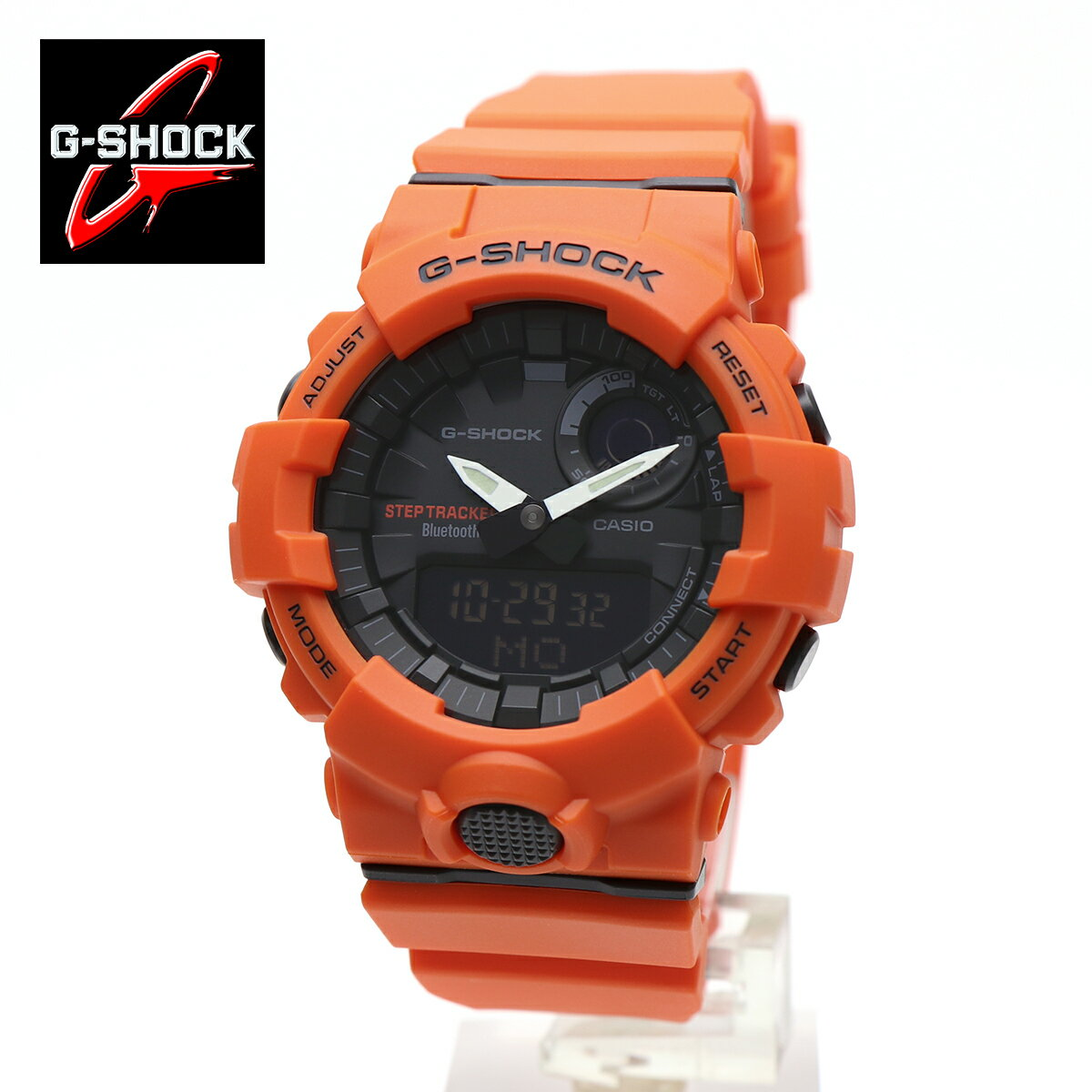 CASIO G-SHOCK Red watch !!G-SHOCK CASIO Bluetoot...