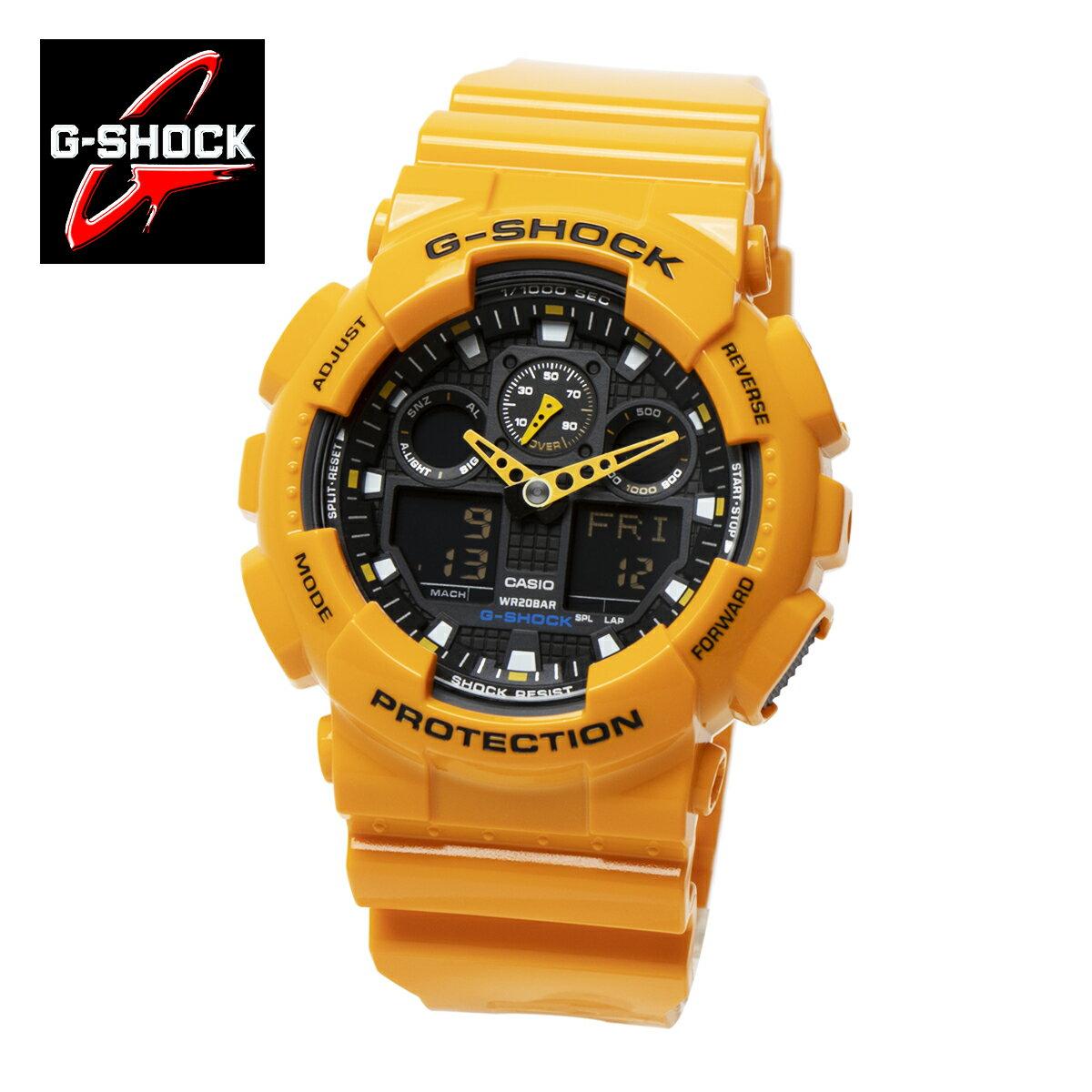 腕時計, メンズ腕時計 !!2G-SHOCKCASIO GA100A-9AGA-100A-9A BIG CASE SERIES :GA-100A-9AJF 20