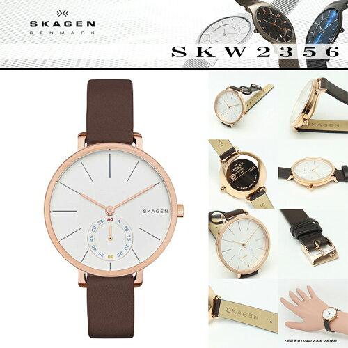 スカーゲン SKAGEN 腕時計 SKW2356 HAGEN ハーゲン 34mm ホワイ...