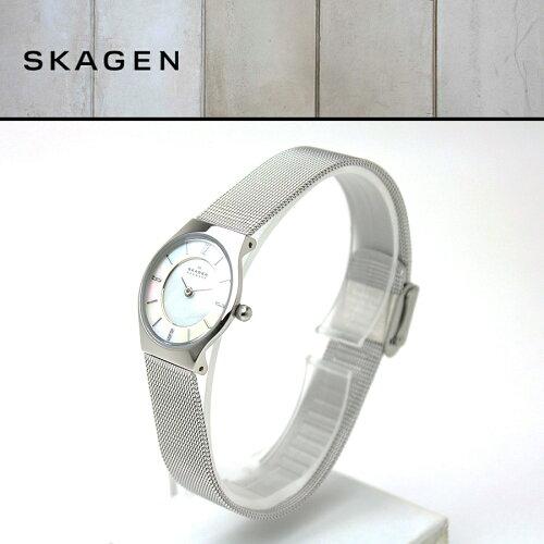 スカーゲン SKAGEN 233XSSS ウルトラスリム ultra slim スチール STEEL ...