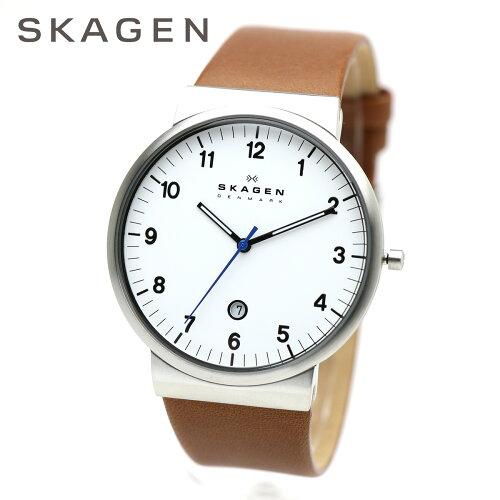 SKAGEN スカーゲン 男性用腕時計 ウルトラスリム メンズウォッチ ...
