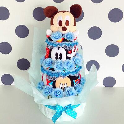 ディズニーオムツケーキ