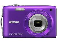 【商品サイズ:20.00】【キャンセル・返品不可商品】Nikon COOLPIX S3300 [ラベンダーパープル]...