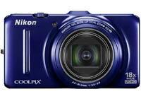 【商品サイズ:30】【キャンセル・返品不可商品】【送料無料】Nikon COOLPIX S9300 [ネイビーブ...