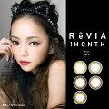 ReVIA1dayレヴィアReVIA1month1箱1枚【度あり】ペールミラージュノスタルジアベニーコーラルプラリネブラウンジプシーアンバー(カラーコンタクトレンズ)(カラコン)