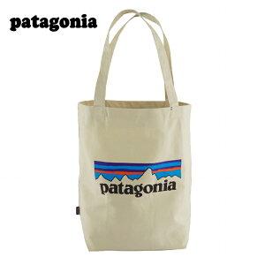 【あす楽】 Patagonia Market Tote / パタゴニア マーケット トート バッグ / トートバッグ / メンズ / レディース / ユニセックス / P-6 Logo : Bleached Stone 59280