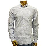 【あす楽】SCOTCH & SODA LONG SLEEVE Shirt ドット柄&ストライプ シャツ(長袖) 15010220001