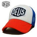 あす楽【ポイント 2倍】Deus ex machina Mesh Cap(メッシュキャップ) BAYLANDS TRUCKER DMS07875 スナップ...