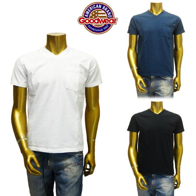 トップス, Tシャツ・カットソー Goodwear()V-Neck Pocket Tee Slim FitT-ShirtV T GDW-001-171007
