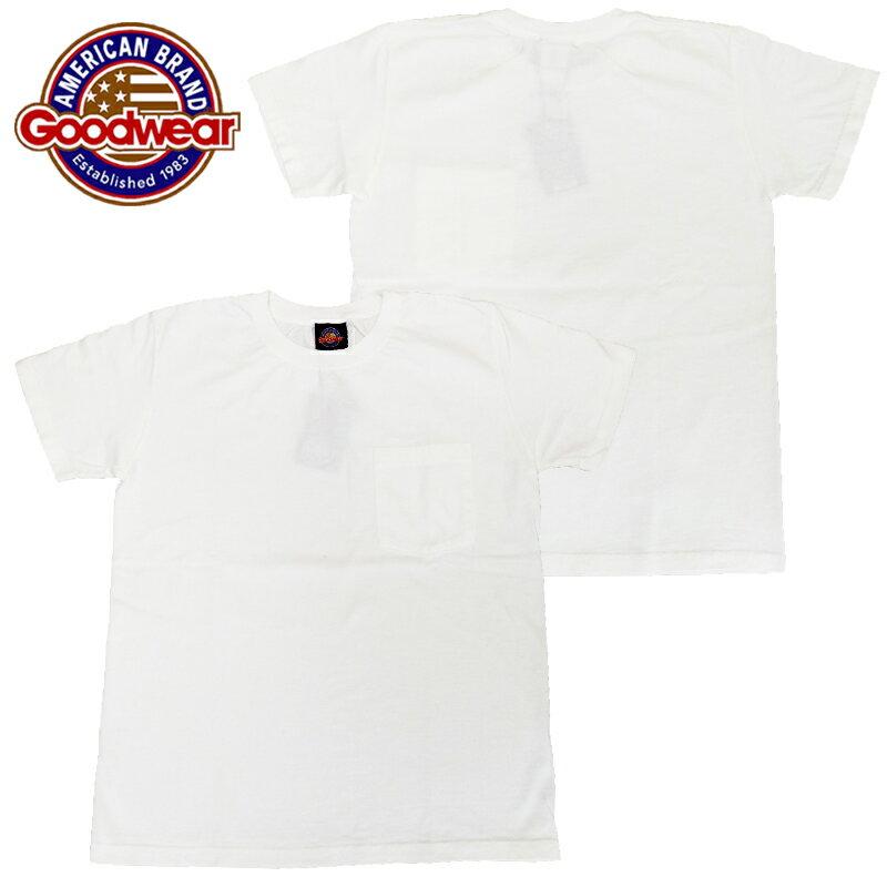 トップス, Tシャツ・カットソー  Goodwear SLIM FIT SHORT SLEEVE TEE SS Slim Fit POCKET T-Shirt T CREW NECK GDW-001-201004