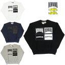 あす楽【50%OFF】NORMAN Logo Print Crew Neck Sweat Tee Shirts / ノルマン / ロゴ / Logo / プリント / クルーネック / スウェット / Tシャツ / 馬場圭介様 / NOR-0013