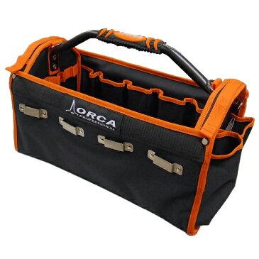 ORCA オルカ MB-Z2 作業用ツールバッグ BPフック付大型ボストンタイプ ショルダーベルト付
