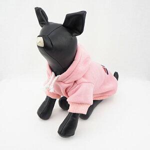 犬服犬服好き名入れ名前入り名前入れ愛犬とお揃いペアルックペットとお揃い秋冬ブランドおしゃれかわいいパーカーセットパーカーペット服小型犬中型犬プレゼントギフト犬の服【ビッグロゴパーカー】