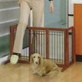 [リッチェル]Richell ペット用木製おくだけゲート (犬用飛び出し防止ゲート・柵)【大型商品のため同梱不可】 #50079