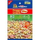 [ドギーマン]DoggyMan 犬用おやつ ドギーマンスナックバリュー 野菜ミックスボーロ 80g [正規品...