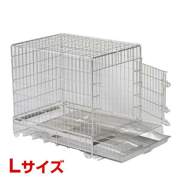 200円クーポン☆市瀬 ステンレスケージ フロントオープン L SSL-FOP 4582309813117 #w-140038-00-00