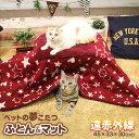 最大350円offクーポン★【あす楽】[キャティーマン]CattyMan 遠赤外線 ペットの夢こたつ 一式セット / 4976555949735 あったか 遠赤外線 猫用 こたつ もぐる ねこ ふとん ベッド マット #w-152861