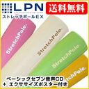LPN・ストレッチポールEX(取扱説明書付)カラー【税込・送料無料】