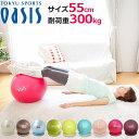 バランスボール 55cm【耐荷重300kg】(レッスンDVD...