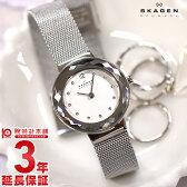 【先着5000枚限定200円割引クーポン】スカーゲン SKAGEN スティール 456SSS [海外輸入品] レディース 腕時計 時計