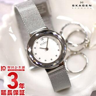 Ladies ' Skagen 456 SSS / watch wristwatch #101509