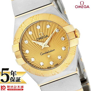 [Shopping loan 24 times 0% interest rate] OMEGA Constellation OMEGA 123.20.24.60.58.001 [Overseas imports] Ladies' watches Watch