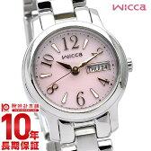 【先着5000枚限定200円割引クーポン】[P_10]シチズン ウィッカ wicca ソーラーテック KH3-410-91 [正規品] レディース 腕時計 時計