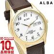 セイコー アルバ ALBA ソーラー 100m防水 AEFD544 [正規品] メンズ 腕時計 時計