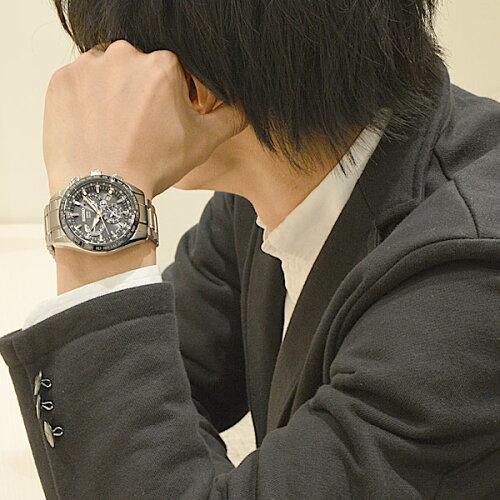 セイコーアストロンSEIKOASTRONGPS電波ソーラー電波時計腕時計メンズ100m防水SBXB045